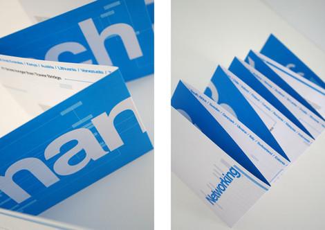 Networking Folded Brochure