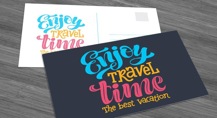 NextDayFlyers postcards cardstock paper