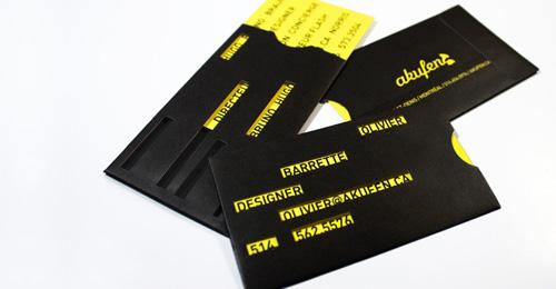 Akufen Biz Card
