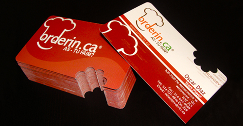 Oderin business Cards