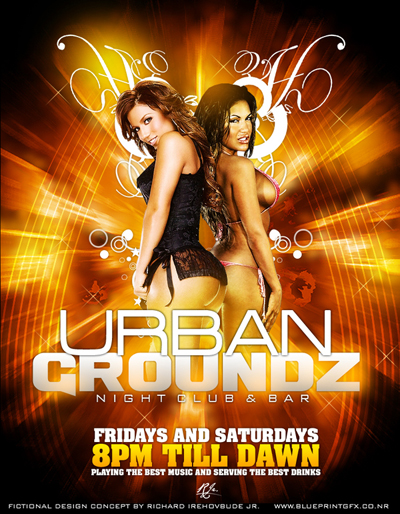 30 Night Club Flyer Designs