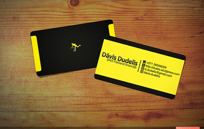cool business card designs 30 tantalizing typographic - Business Cards Design Ideas