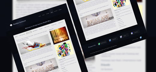 Create-a-Modern-and-Sleek-Blog-Design-in-Photoshop
