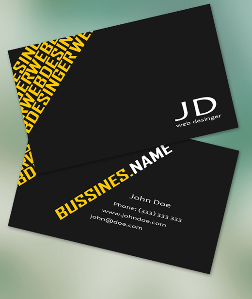 Free Business Card Templates To Download Free PSDs - Free business cards template
