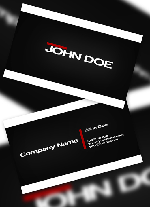 100 Free Business Card Templates to Download Free PSDs