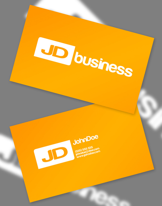 business card for free
