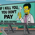 Funny Cartoon Business Cards from 'The Simpsons'