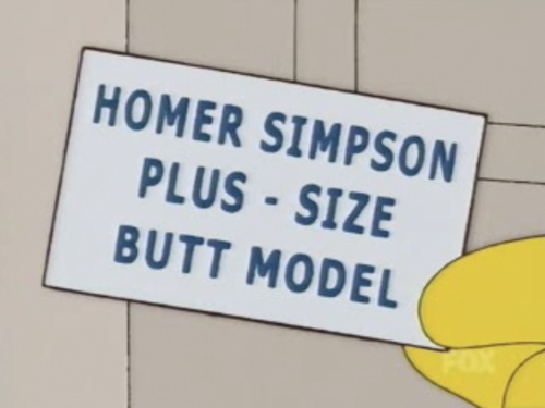 Homer Simpson Business Card (The Simpsons)
