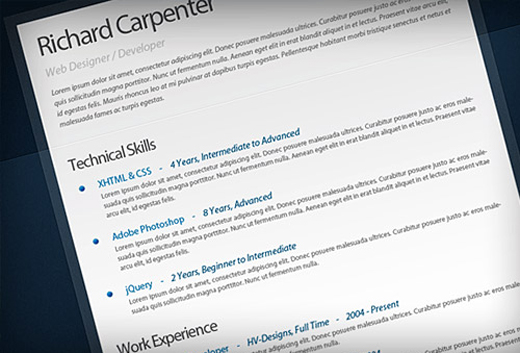 graphic design roundup 29 free psds stationary resume mobile