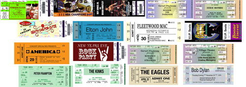 Ticket Examples. Ticket Printing HiSecurityTickets.co.uk Event ...