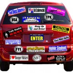 The Bumper Sticker Parking Lot of Fame