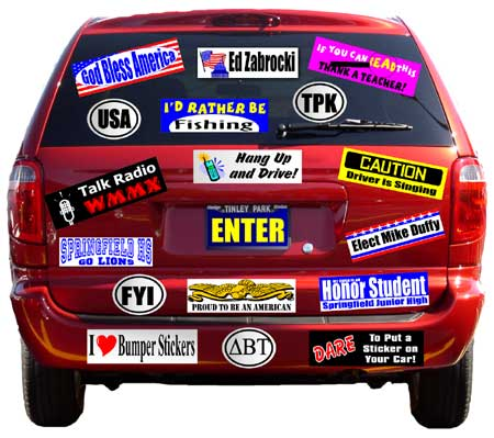 Bumper+Stickers+Street+Car-Best+Car+Sticker