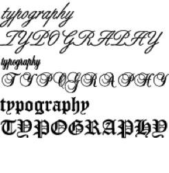 1typography