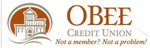 O Bee Credit Union, Checking, Savings, and Loan Accounts