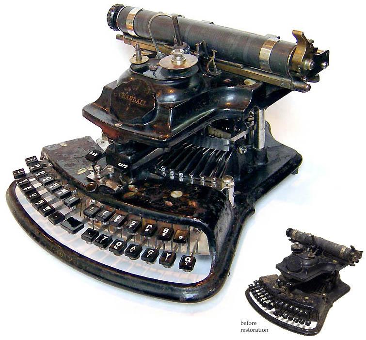 Typewriters — the original laptop.
