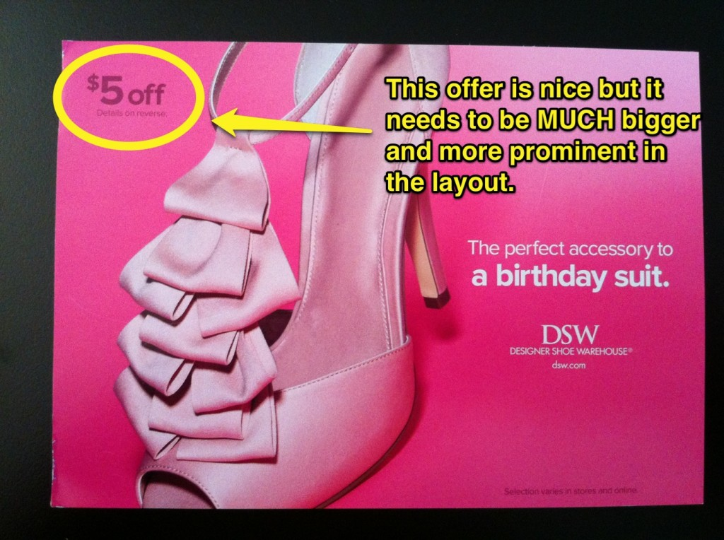 DSW Birthday Postcard