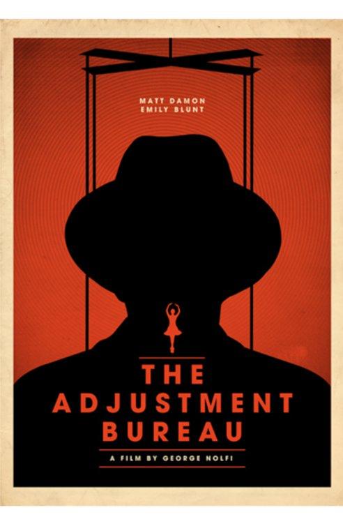 adjustment bureau movie poster