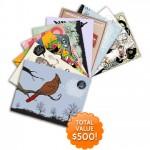 It's Giveaway Time! Win A Set Of 100 Postcard Portfolios!