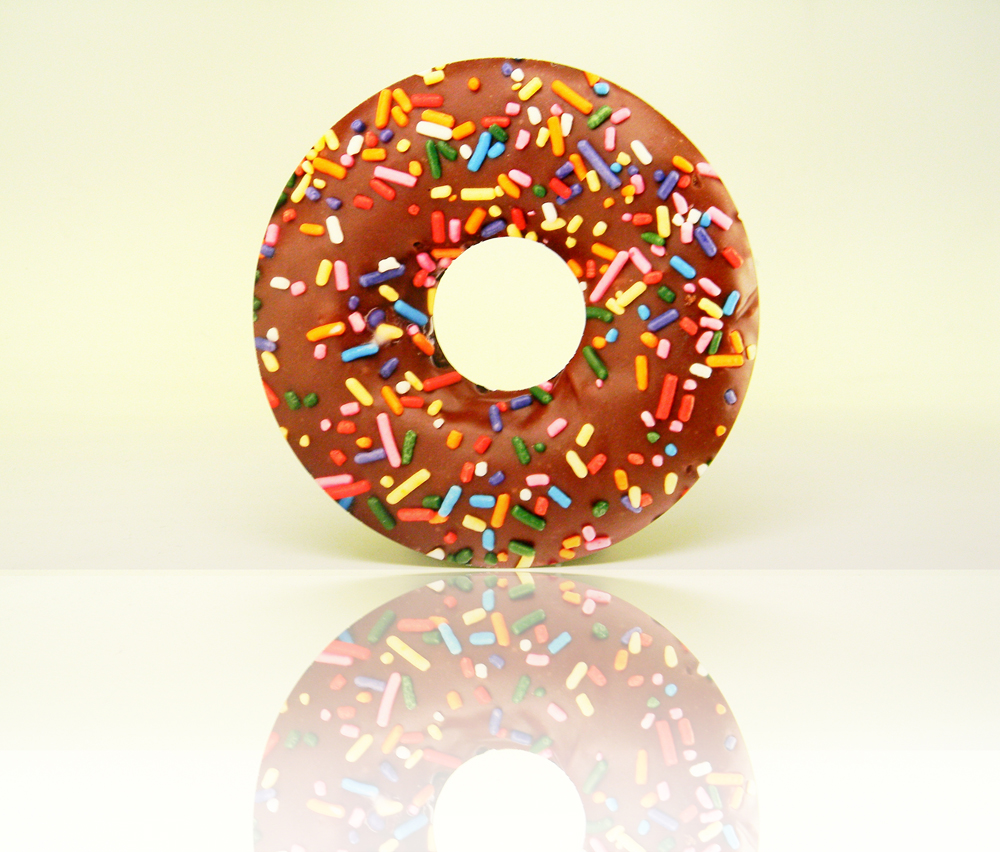 donut die cut print