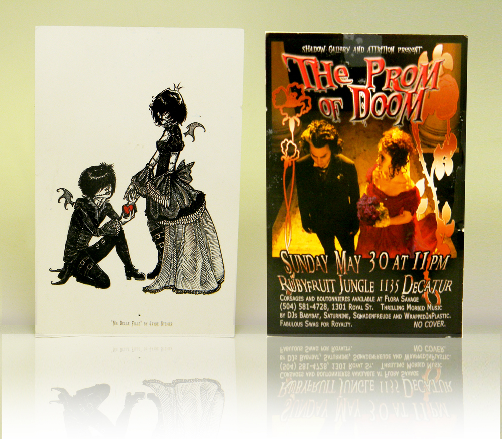 tim burton flyer