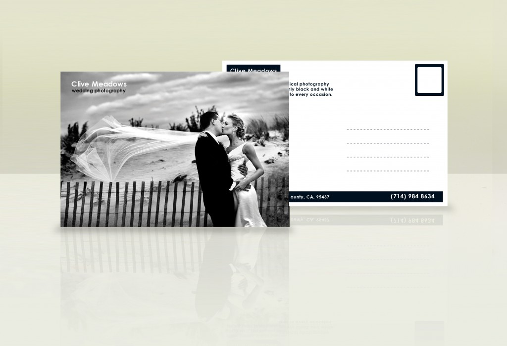 photographer postcard mailer