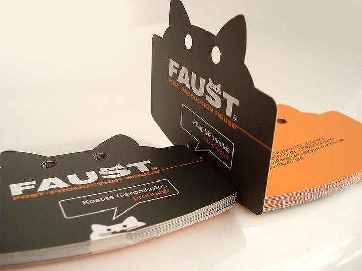 50 bizarre brilliant business card designs nextdayflyers. Black Bedroom Furniture Sets. Home Design Ideas