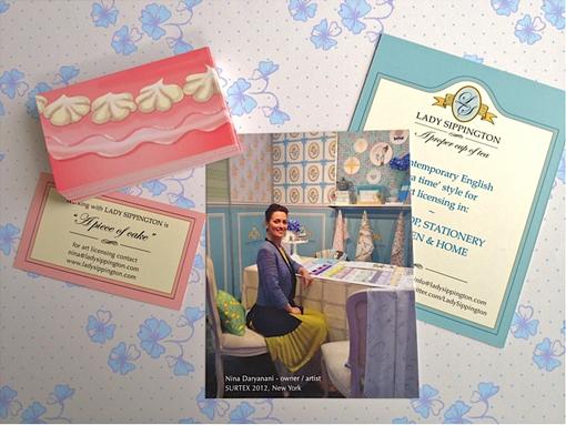 tea business cards