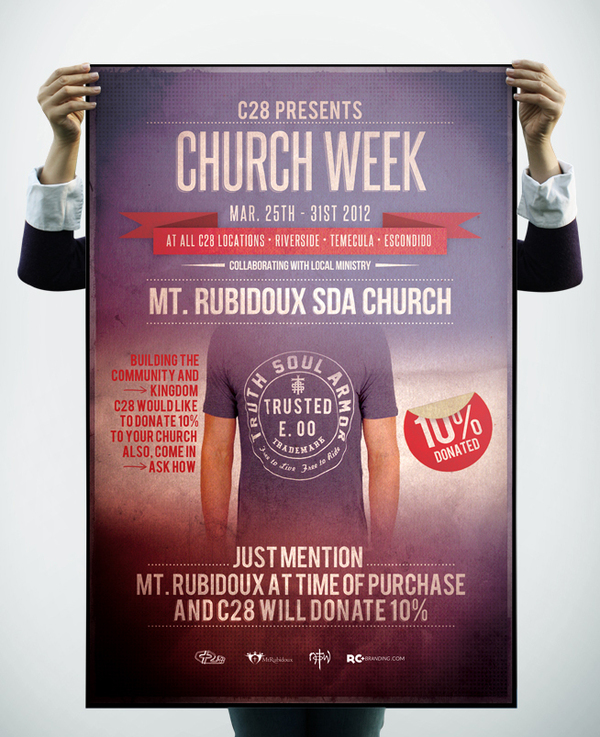 poster for church week