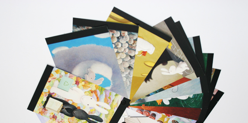 postcard portfolios