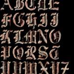 Fontastic Bacon Alphabet