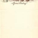Gene Autry vintage letterhead