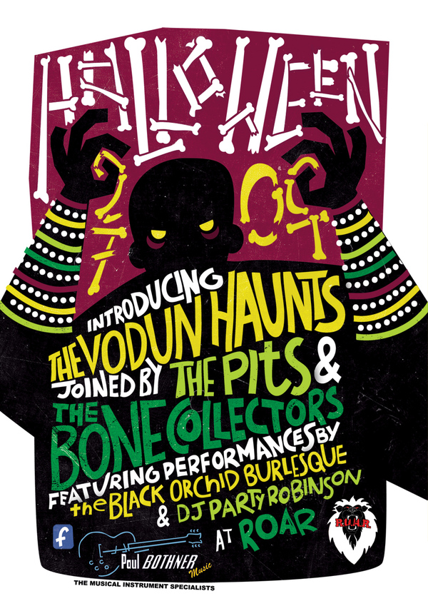 Halloween Poster by Annika de Korte via Behance