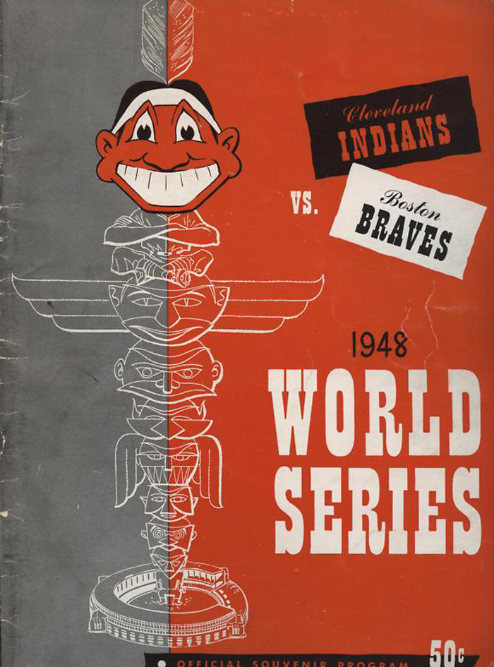 1948 World Series Baseball Program