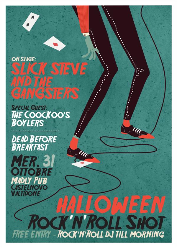 Halloween Poster by Giulia Ripa via Behance