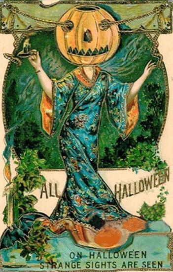 Vintage Halloween Poster