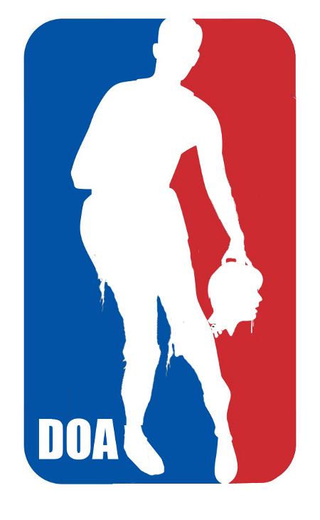 NBA zombie logo