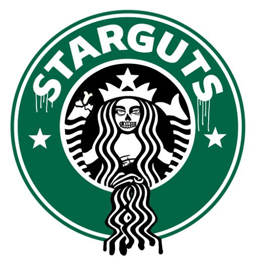 zombie starbucks logo