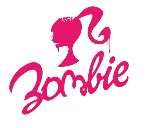 zombie barbie logo