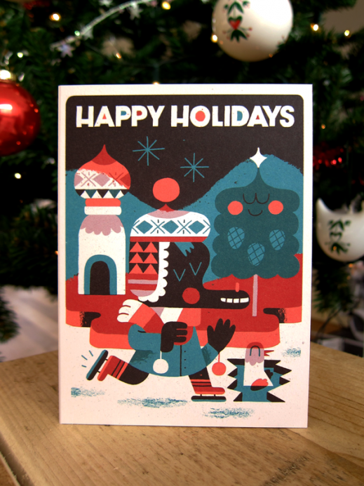 Christmas Card by Rick Hedof