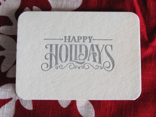 Holiday Card by Cory Say