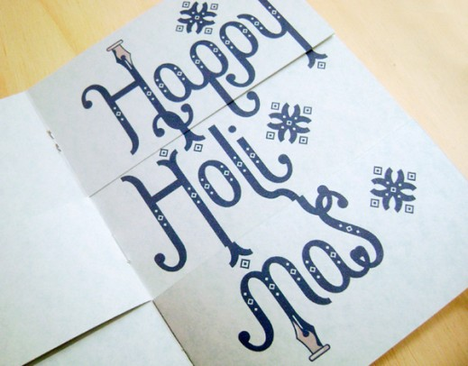 Many-in-one Holiday Card
