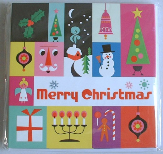 1960s Vintage Christmas Cards