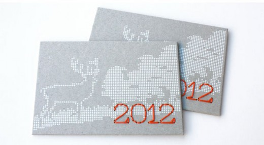 Hermes 2012 Holiday Card