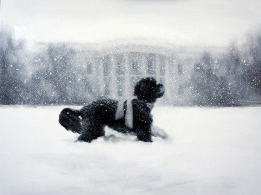 The White House's 2012 Holiday Card by Larassa Kabel
