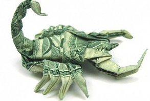 Scorpion_Dollar_Bill_Origami