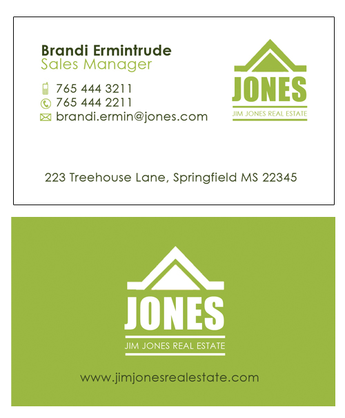 5 photoshop psd business card design templates for real estate you may also like real estate flashek Images