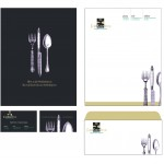 FREE! 3 Photoshop Corporate Identity Templates for Restaurant, Real Estate, and Religious Marketing