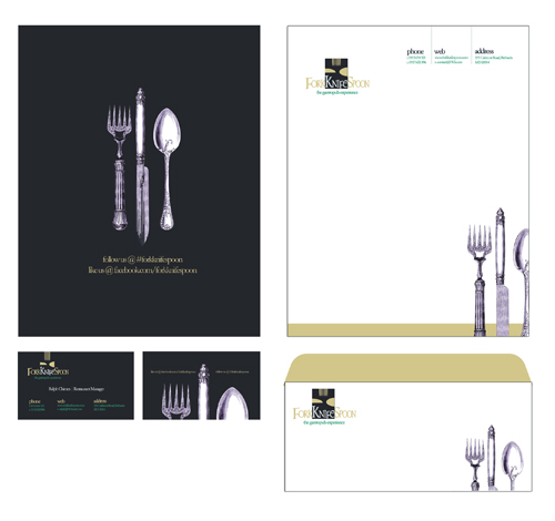 Free 3 photoshop corporate identity templates for for Restaurant letterhead templates free