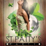 St. Patrick's Day Designs – 3 FREE Photoshop Flyer Templates for Bars and Clubs