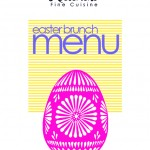 FREE Easter Restaurant Menu Templates for Photoshop and Illustrator